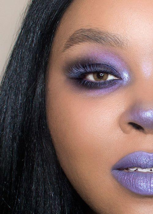 Pastel Makeup, Violet Makeup, Pastel Goth Makeup
