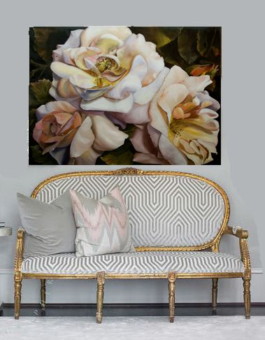 Diana Watson bella rosa 107x137