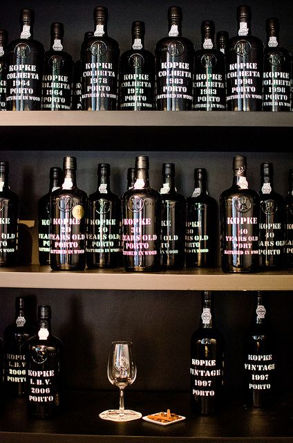 #iloveporto #portwine Port wine is a must try!  It is typically a sweet and red, often served as a dessert wine. It also comes in dry, semi-dry, and white varieties.  Kopke Port House - Porto.