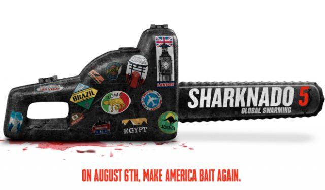 Sharknado 5 #Global Swarming Reveals Cast and Cameos #NewMovies #cameos #global #reveals #sharknado