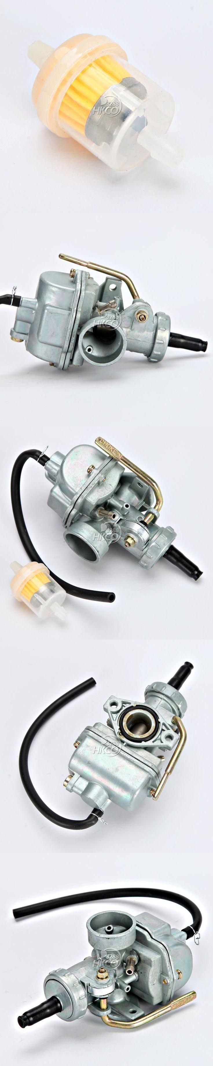 Motorcycle 18mm Carburetor Carb + 33mm Fuel Filter For Honda Dirt Bike XR80 1979-1984