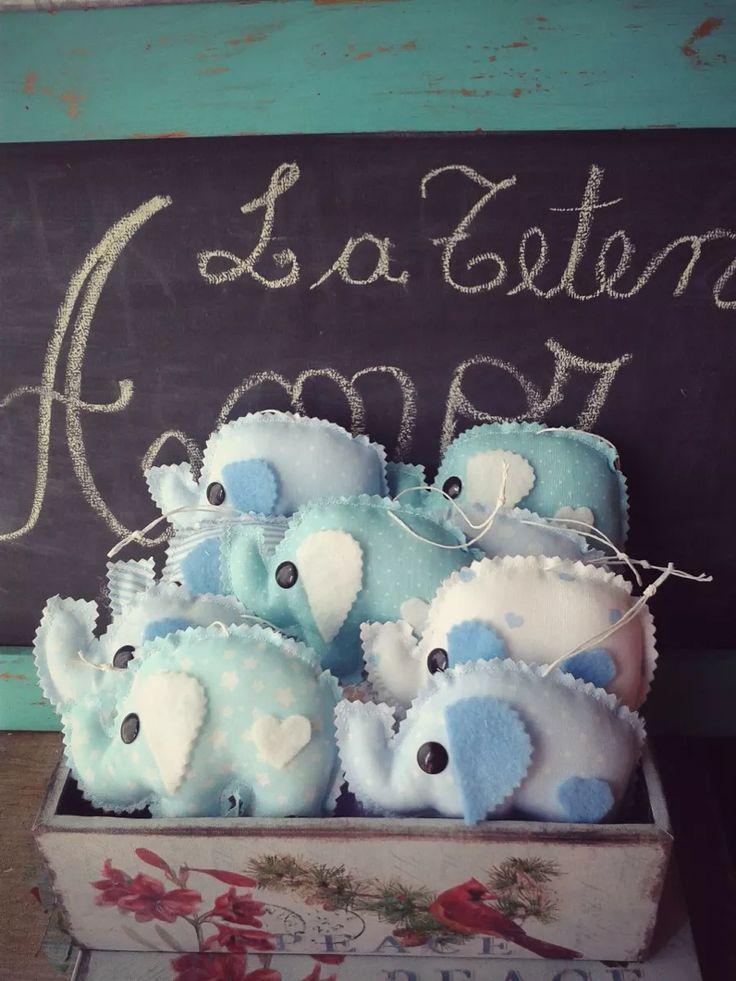 Souvenirs Elefantito!!!! Nacimiento, Baby Shower, Bautismo - $ 50,00