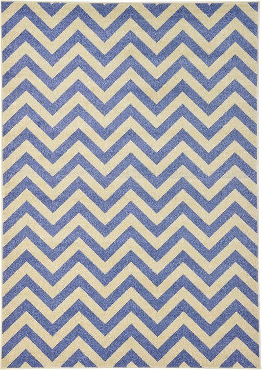 Blue Chevron Area Rug Chevron area rugs, Rugs, Chevron rugs
