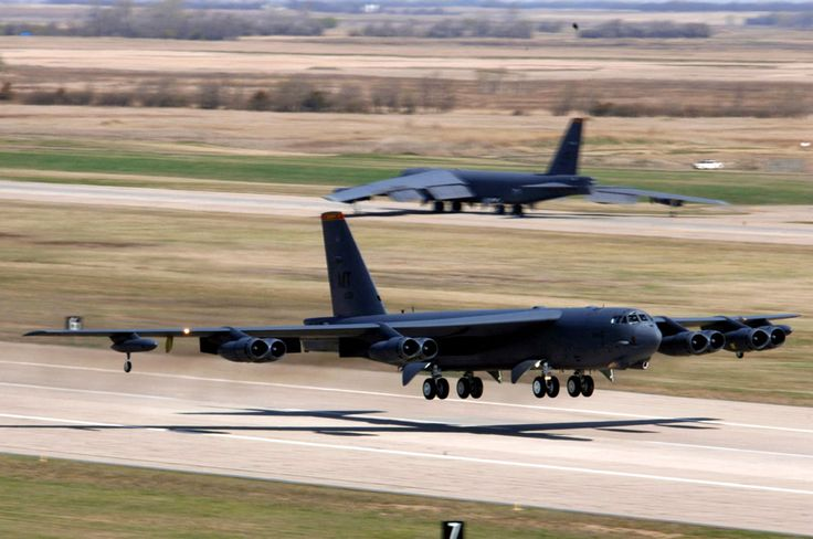 B-52...One of my favorite aircraft, EVER.         Good memories from Wright-Patterson AFB, Fairborn, Ohio.