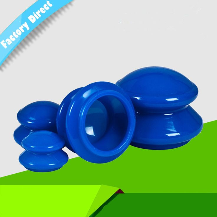 Silicone Cupping Massage Suction Cups Therapy Set 4 pcs Cupping Therapy,Relieve Fatigue Beauty,Lose Weight