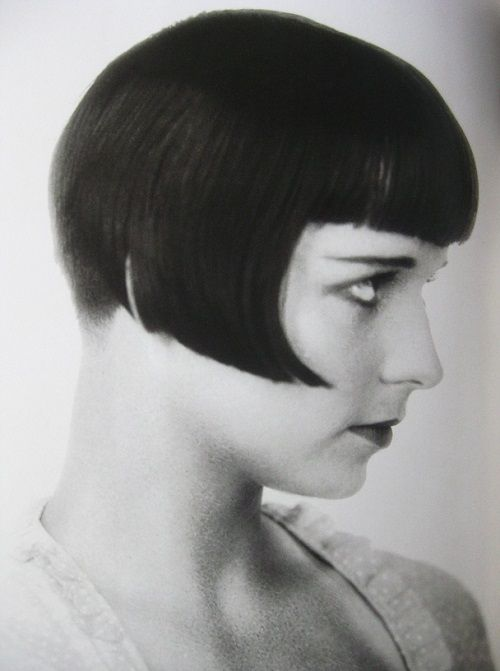 Flapper Hairstyles marcel waves and finger waves hairstyles of the 1920s Louise Brooks The Flapper Bob 20s Movie Star And Inspiration To Flappers Everywhere