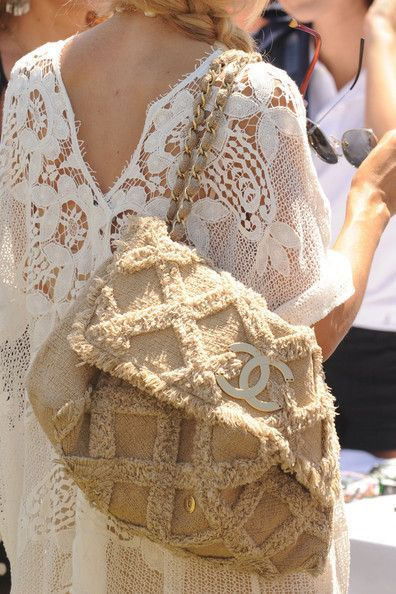 I neeeeed this bag!: Chanel Handbags, Rachel Zoe, Chanel Bags, Styles, Summer Bags, White Lace, The Dresses, Lace Dresses, While