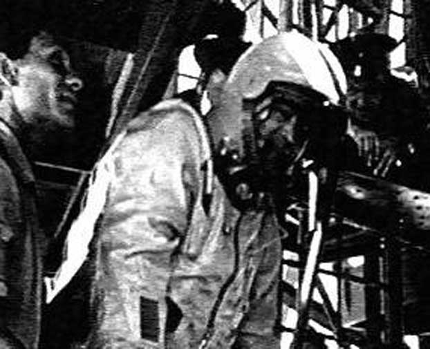 On Aug. 15, 1962, Cosmonauts Andrian Nikolayev and Pavel Popovich landed 295 miles from one another in Karaganda, Kazakhstan. The pair had just returned from a landmark mission that secured a new record for the Soviet Union in space: they were the first two cosmonauts to fly together and meet in orbit.