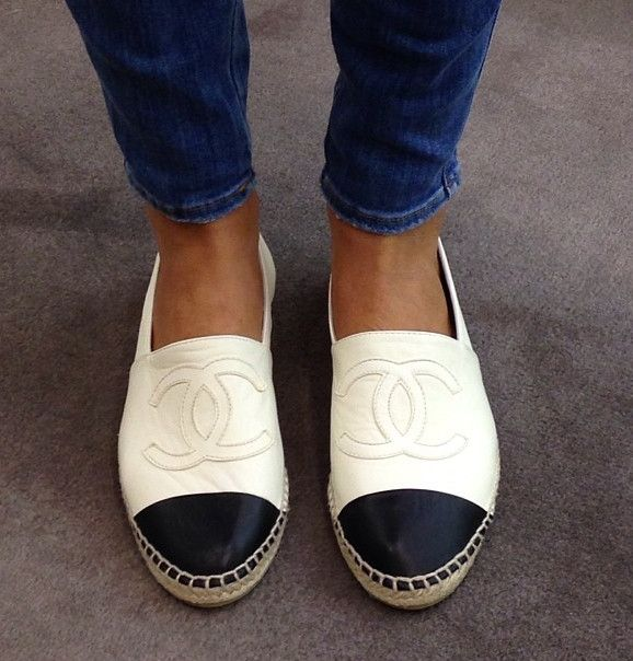 Chanel Slip On Espadrilles Outfits Clothes Shoes Accessorize