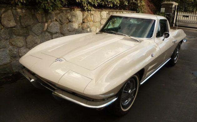 White Gold 1964 Chevrolet Corvette Survivor Chevrolet Corvette Corvette Chevrolet