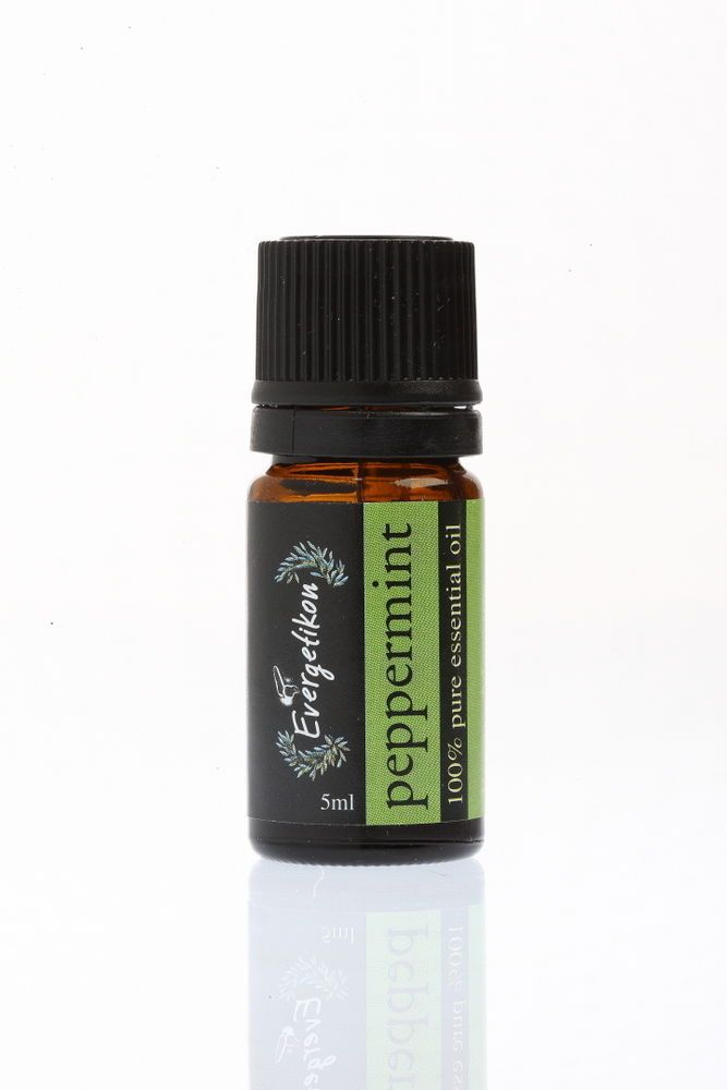 Peppermint essential oil 100% pure and natural for aromatherapy 5ml. #Evergetikon