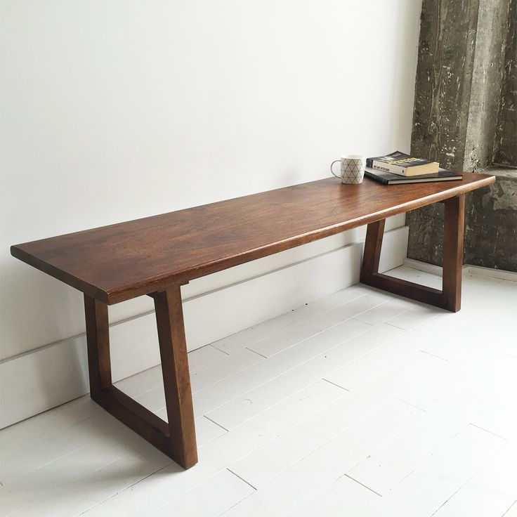 Wooden Bench Seat. Souk - Beautifully Unique Furniture. Fast NZ Delivery