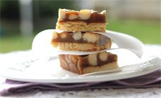 Macadamia Slice Recipe - Christmas