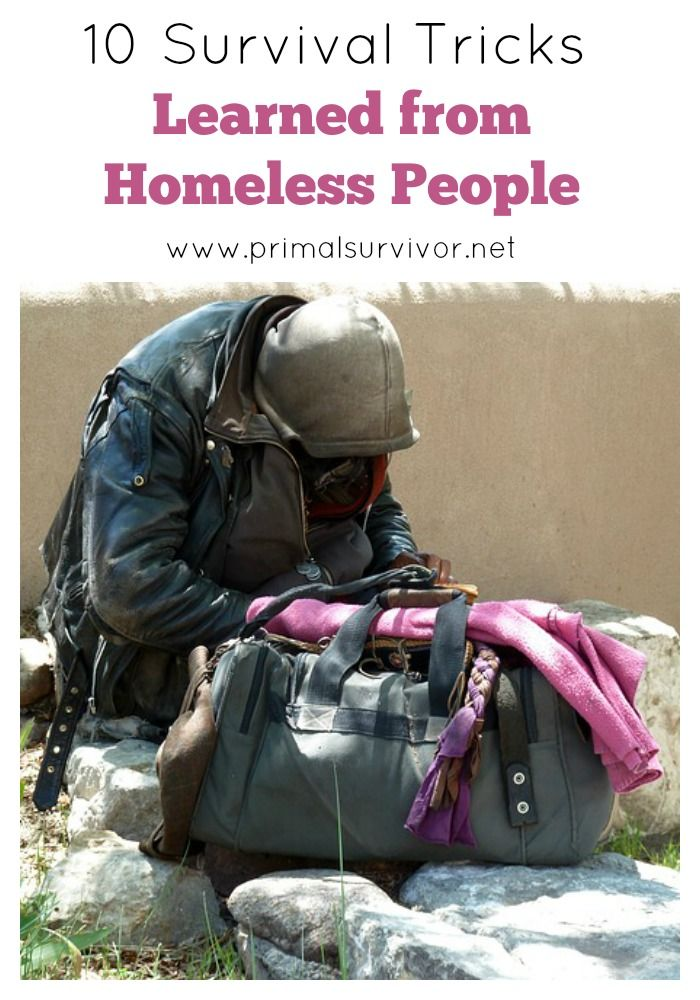 There is a lot we can learn about survival from homeless people. After all, who would you trust more with survival tricks: someone who just fantasizes about disasters, or people who live through disaster-like situations every day? Here are just some of the survival tricks that homeless people use that could one day save your life.