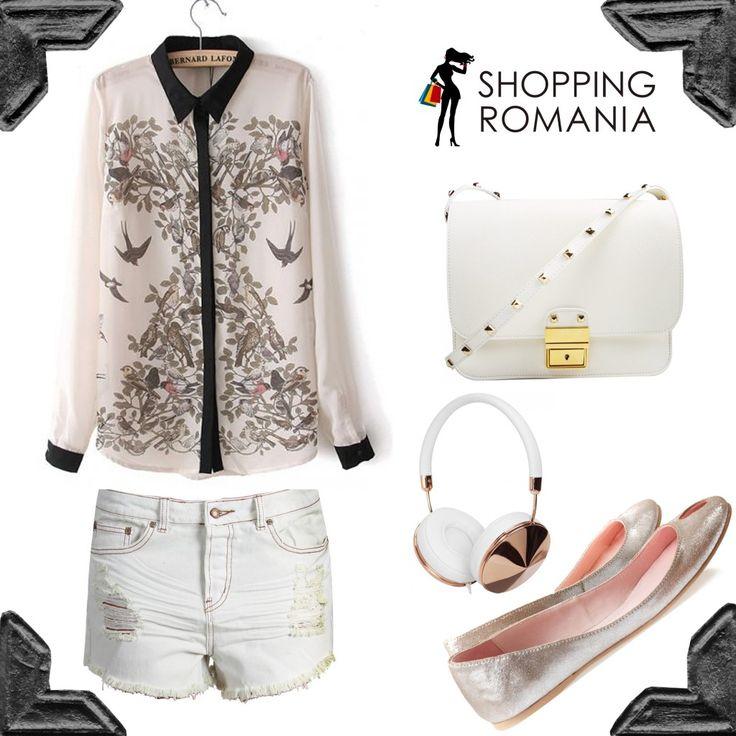 Tinuta alba #shoppingromania www.shoppingromania.com