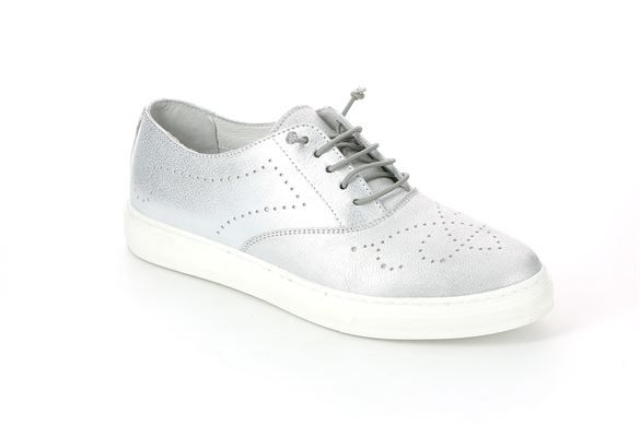 Sneaker da donna in pelle argento - PUNT SC3300 COLORE ARGENTO | Grünland ®