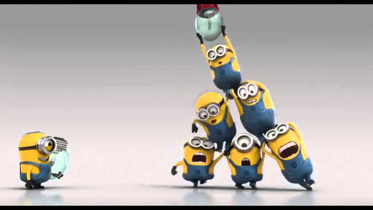 Teamwork - Minions - Despicable Me