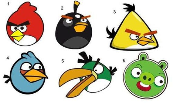 30 Personalized Angry Birds Birthday Mini Bubbles Label Wrappers