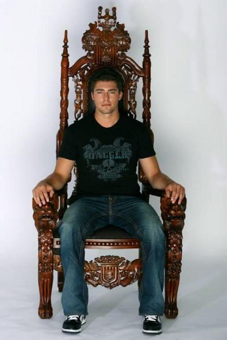 Joffrey Lupul: King Of The World (Either That, Or Just A Guy Sitting In An Awfully Garish Chair)
