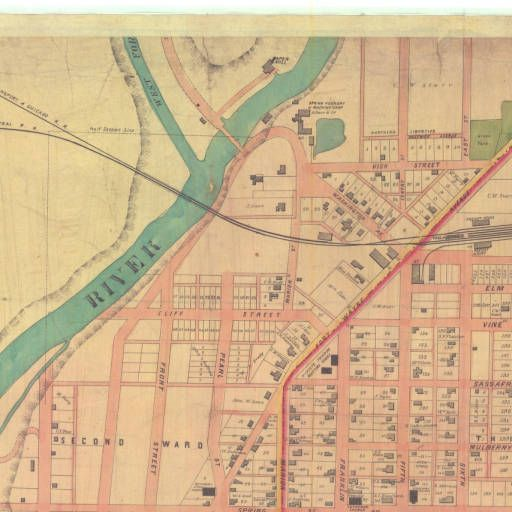 Map of Richmond, Wayne County, Indiana :: Indiana State Library Map Collection