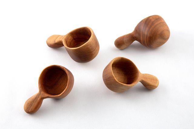 手削りコーヒーメジャー スプーン 木のスプーン コーヒー