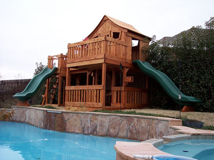 84 best wooden swing sets and outdoor playsets images on pinterest wood swing wooden swing for Swimming pool in fort stockton tx