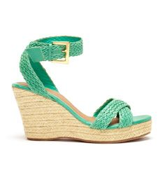 Braided wedge sandals $59.99 #AdditionElleOntheRoad