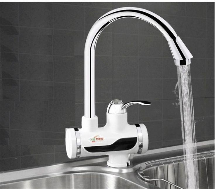 BD3000W-12, envío libre, Pantalla Digital Instantánea Grifo de Agua Caliente, Sin Tanque Calentador Eléctrico Grifo, Grifo de la Cocina Del Calentador de Agua