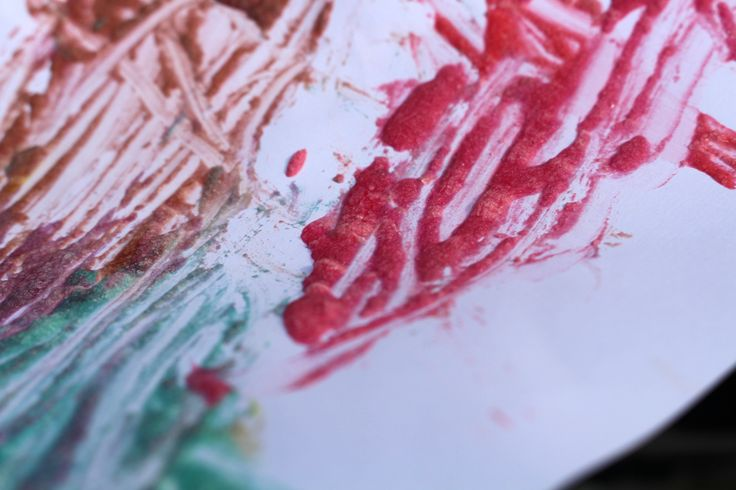 Homemade Puffy Paint by Hey Little Sweet Thing