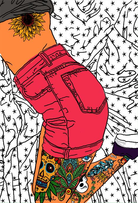 JEANS AND TATOOS on Behance