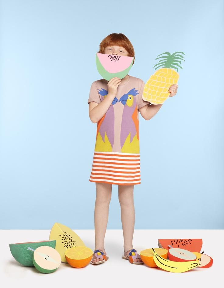 Stella McCartney SS2013 // Marnie dress, Penny sandals: