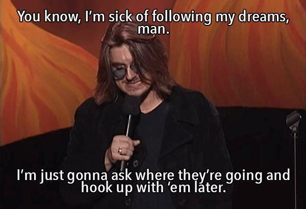 28 Bits of Wisdom from Mitch Hedberg
