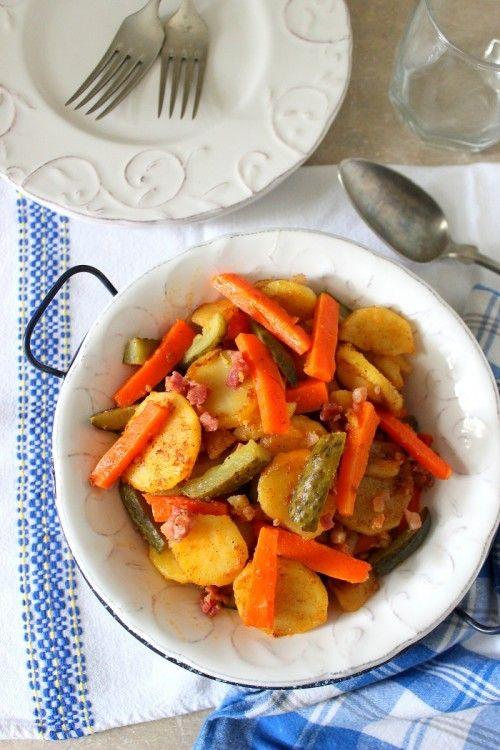 Répás-uborkás krumpli