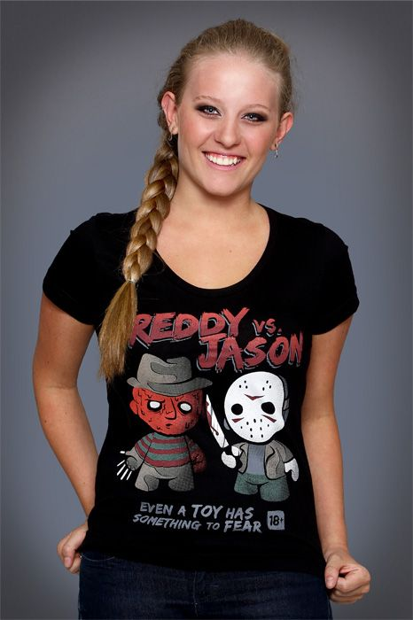 Camiseta Freddy X Jason