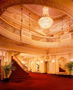 Lobby of the Majestic Theater. Texas