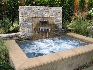 traditional ofuro  Outdoor garden bath tub spa