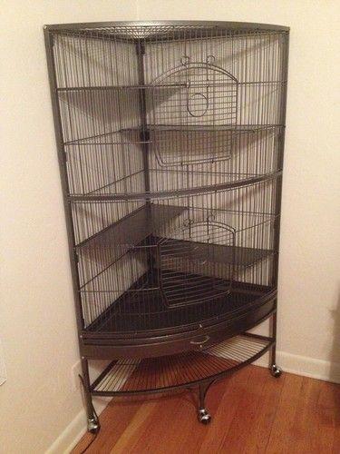 Amazon.com: Prevue Hendryx 490 Pet Products Corner Ferret ...