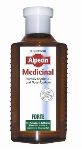 Alpecin Medicinal Forte Intensive Scalp  Hair Tonic 200ml -- More info could be found at the affiliate link Amazon.com on image.