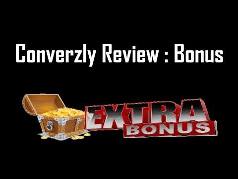 Converzly Review | Converzly Bonus + Converzly Demo - YouTube
