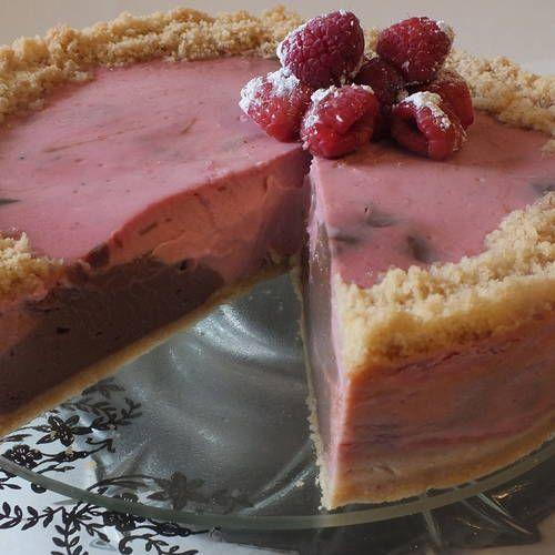 Raspberry Mousse with Chocolate Hazelnut Swirl | Crazy Good Recipes ...