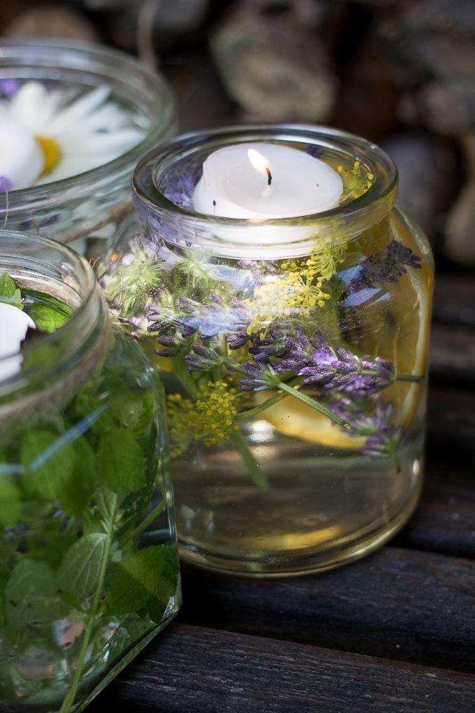 Make summery lanterns yourself – garden Miss –  –
