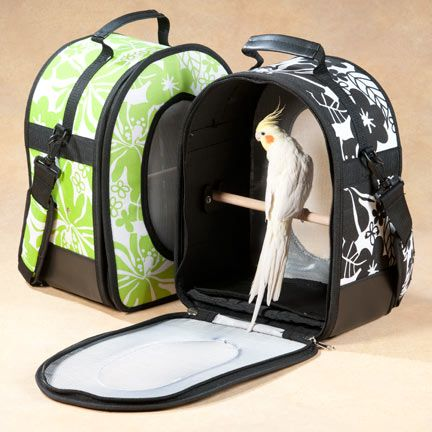 A Amp E Cages Small Soft Sided Bird Carrier Parrot Cage
