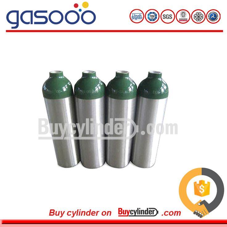 EN 204mm 13.4L 20Mpa Aluminum Helium Gas Cylinder