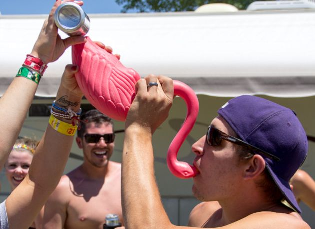 Flabongo, a beer bong made from a plastic flamingo. THIS IS WHY PINTEREST EXISTS, PEOPLE