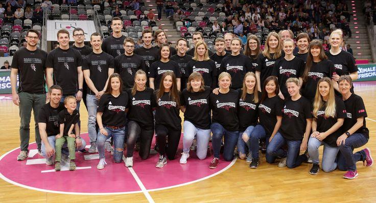 Erste Damenmannschaft Telekom Baskets Bonn 2016