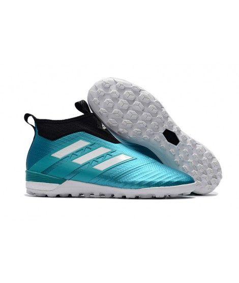 Adidas ACE Tango 17 Purecontrol TF NA SZTUCZNĄ NAWIERZCHNIĘ TYPU TURFbuty piłkarskie Cyan czarny biały