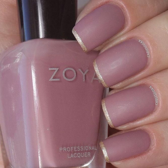 Matte Nail Polish Brands To Consider This Season #nails