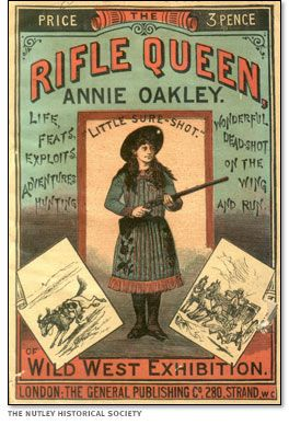 Rifle Queen Annie Oakley  http://www.pbs.org/wgbh/americanexperience/films/oakley/