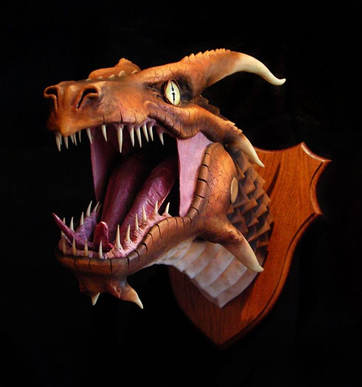 Best dragon trophies images on pinterest head