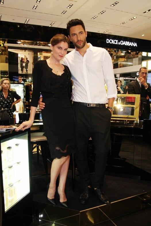 Миланская неделя моды: звездные гости  Летиция Каста